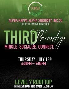 Third Thursdays July 18th